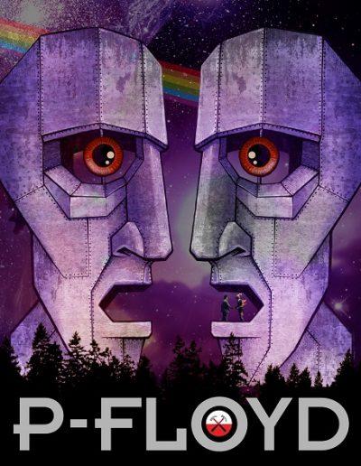 P-Floyd bild affisch